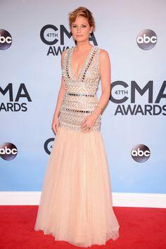 Jennifer Nettles in Naeem Khan | 2013 #CMAs