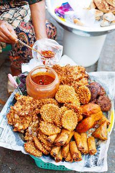 Deep fried street food- RealThai, via Flickr