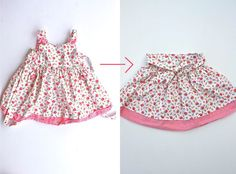 A great sewing blog about recycling clothes! Project Run and Play: Signature Look by Ruffles and Stuff