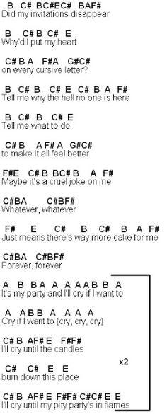 Fireflies Owl City Bb Flute Notes Flutenotes Free Letter