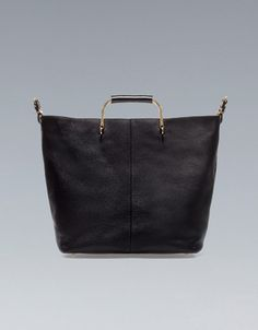 f0ea7b6f2e Shopper with Metal Handle from Zara