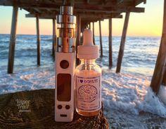 "Tony Brittan on Instagram: ""Sunrise under the pier with #ilovedonuts and #vengeancetank atop #evicvtcmini  #vape #vapeporn #coilart #coilporn #subohmclub #tastyjuice #vapefam #vapelife #vapelove #handcheck #obxvape #vapetography #beachlife #beachvape @vapemadhatter @vapemadhatter @joyetech_global @councilofvapor #dripgirls #vapemodels #vapepics #ecig"""