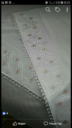 Crewel Embroidery, Beaded Embroidery, Chikankari Suits, Photo Tutorial, Diy And Crafts, Pattern, Design, Seed Beads, Hardanger