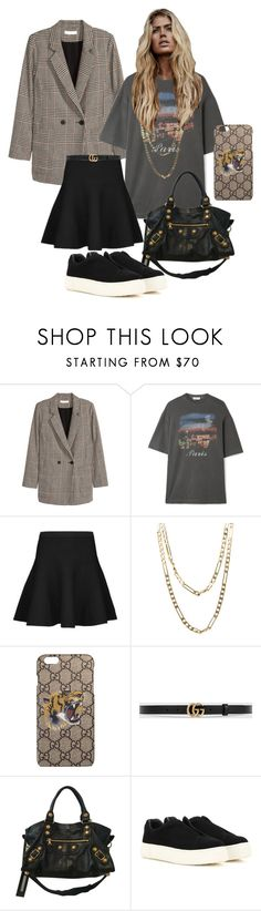 """""""Untitled #243"""" by fashiondisguise on Polyvore featuring Jakke, Balenciaga, Tiger of Sweden, Cartier, Gucci and Eytys"""
