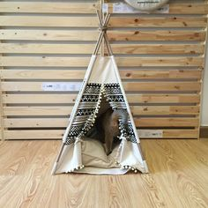 Pet Teepee Tent  Gemina by WilaanaPetCraft on Etsy