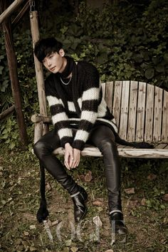 Lee Jong Suk - Vogue Magazine October Issue '13