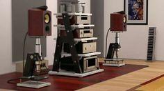 JTL Audio Racks. Crazy ass speaker stands!