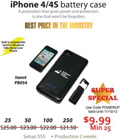 iPhone Battery Case SUPER SPECIAL