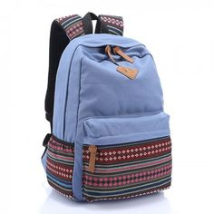 Canva Upgrade College Style s Stripe Pattern Casual Backpack , Fashion Backpacks - Bags For Big Sale! Canva Upgrade College Style s Stripe Pattern Casual BackpackJust $45.00 . Stripe spliced pattern cloth, and a pig nose logo on the top of the College Style Canvas Patchwork Leisure Backpack in Atwish.com
