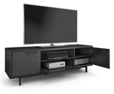 BDI Signal Home Theater Cabinet with Doors and Shelving - Jordan's Home Furnishings - TV or Computer Unit New Minas and Canning, Nova Scotia Tall Tv Stands, Home Furniture, Modern Furniture, Floating Tv Stand, Home Theater, Theatre, Large Homes, Wooden Doors, Cabinet Doors