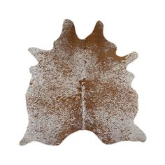 Luxuriously Rustic Cowhide Rug