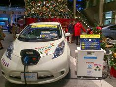 #NissanLeaf #Nissan #Leaf #ChristopherNissan  #ElectricVehicle #PowerYourChristmasTreeFromYourLeaf