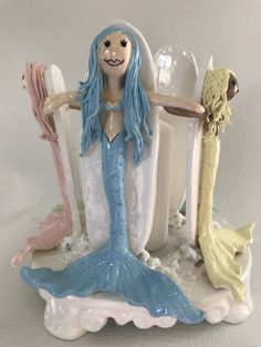 Funky Gifts, Beach Gifts, Funky Art, Mother Nature, Surfing, Disney Characters, Fictional Characters, Sculptures, Mermaid