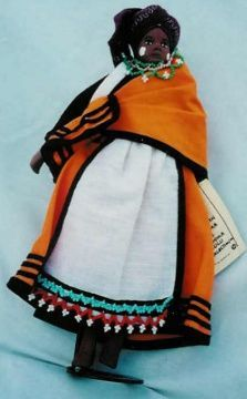 Xhosa beaded doll with baby - Google Search