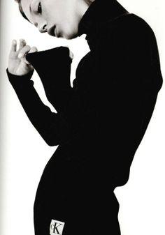 Kate Moss Calin Klein