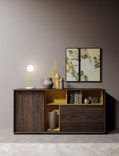 Sessanta / new finishes - Prof Office Home Office Space, Floating Nightstand, Design Trends, It Is Finished, Cabinet, Living Room, Storage, Interior, Table