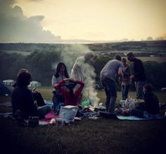 Camping at Steeple Leaze