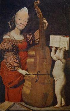 Ridiculous Portrait (Cello, Cherub) - May Wilson
