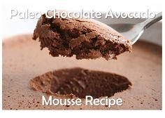 Avocado Chocolate Mousse  @The Paleo Network