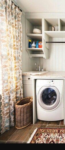 Rincón lavadora