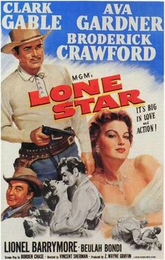Lone Star (1952) - Clark Gable  DVD