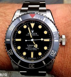 THE HERITAGE SUBMARINER BIG CROWN, 60TH ANNIVERSARY EDITION OF THE ICONIC ROLEX SUBMARINER FUSION OF MODERN AND VINTAGE!