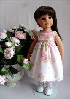 Продаю свою Лилечку -это Ханна Gotz 2010 года выпуска -«Hannah at the spa» 2010г. Я первая и единственная хозяйка куклы. / 11 500р