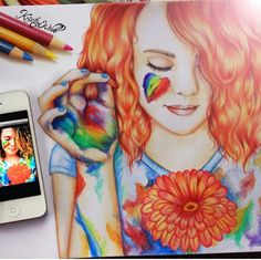 Amazing Drawing by Kristina Webb