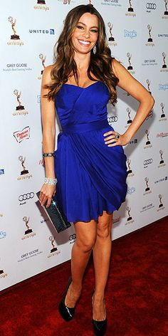 Sofia Vergara, stunning and funny!! deadly combo!!!