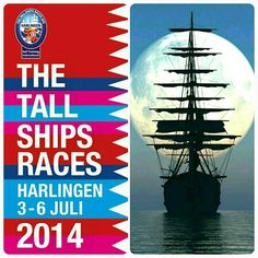 Visit our stand at The Tall Ships Races 2014. Our stand @ Nautic Market. Location Zuiderhaven #Harlingen #SailHarlingen