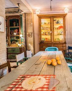 Una casa con encanto en las afueras de Sevilla...