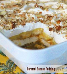 ... Banana pudding and caramel take this popular layered dessert to new