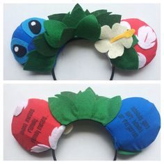 Minnie Ears Lilo & Stitch themed by ComicGeekOut on Etsy