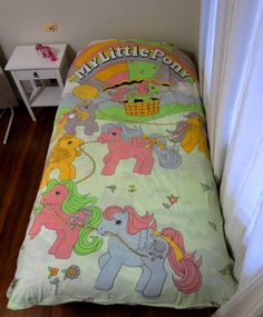 Items similar to Vintage My Little Pony quilt cover on Etsy 1980s Childhood, Childhood Memories, Daddy's Little Boy, Cute Bedding, Vintage My Little Pony, Retro Room, My Little Pony Merchandise, 80s Kids, Toy Collector