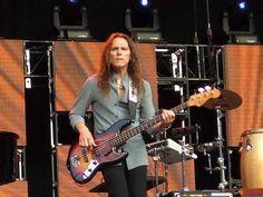 Eagles, Timothy B. Schmitt, Bass Guitarist. Twickenham 2006, when we were there!