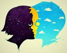 Mi Universar: La luna y el sol se van de paseo