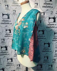 Blusa de carmen! Preciosa! #hanmade #diy #costura #clasesdecostura #fashion #costuramadrid #patronaje #modamadrid #escuelascostura #telasmadrid #clasesdivertidas #coseresfacil