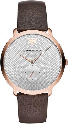 Часы Emporio Armani + мужское портмоне Armani в подарок!
