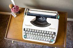 vintage typewriter $235 | the two sparrows
