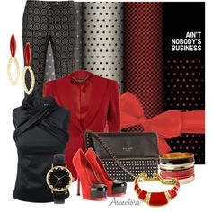 Nobody business by asunvitoria on Polyvore