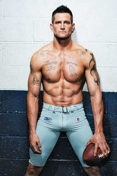 Steve Weatherford. Tackle or two-hand touch. Either is fine with me.