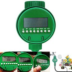 Intelligent Automatic Flowers Watering Timer House Garden Water Timer >>> Check out this great product.