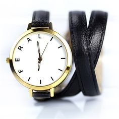 The Jane - Black - Feral watch #wrapwatch