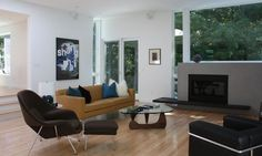 Chair of Hollywood Brown living room design