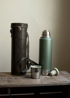 Stanley thermos....everyday my mom filled this with HOT WATER before refilling with coffee for dad to take to work !