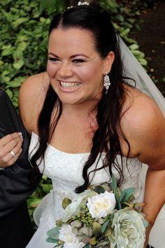 Beautiful bride Amy