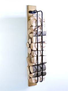 Log Rack Wall Mounted
