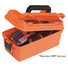 Plano Small Shallow Emergency Dry Storage Supply Box - Orange [141250]