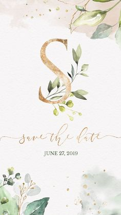 Rustic Save the date Ideas, ideal for an outdoor wedding. This Greenery Electronic Save the Date is the perfect choice to invite friends and family to your wedding! Pin this + Click through to see more Wedding Invitations Video! #rusticweddinginvitations #weddinginvitationrustic #outdoorwedding #weddinginvites #savethedate