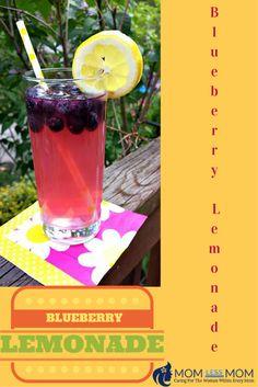 Easy homemade Blueberry Lemonade #Recipe #summerdrinks #homemadelemonade Great Recipes, Favorite Recipes, Delicious Recipes, Amazing Recipes, Summer Grilling Recipes, Summer Recipes, Winter Recipes, Blueberry Lemonade Recipes, Dinner Party Menu